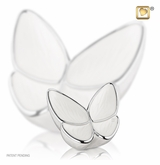Wings of Hope Pearl Butterfly Keepsake Cremation Urn