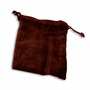 Xlarge Burgundy Velvet Cremains Bag For Ashes