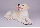 Yellow Labrador Retriever Hollow Figurine Pet Cremation Urn - 2754