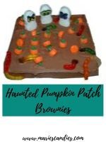 Haunted Pumpkin Patch Brownies