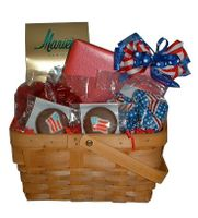 Patriotic Basket - 42 oz.