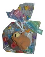 Sloth Squeezy Poo Key Chain Goodie - 4 oz.