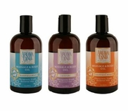 Aromaland Scented Massage and Body Oil (12 oz.)