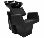 Berkeley - Aron Backwash Shampoo Chair with Bowl and Faucet