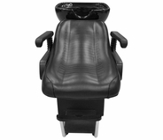 Berkeley - Bedford Backwash Shampoo Chair with Bowl and Faucet