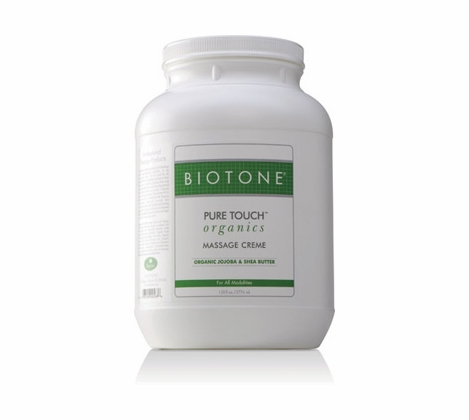 Biotone - Pure Touch Organics Massage Cream 128 oz.