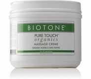 Biotone - Pure Touch Organics Massage Cream 32 oz.