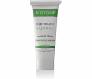 Biotone - Pure Touch Organics Massage Cream 7 oz. Refillable Tube