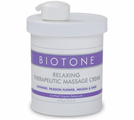 Biotone - Relaxing Therapeutic Massage Creme 16 oz