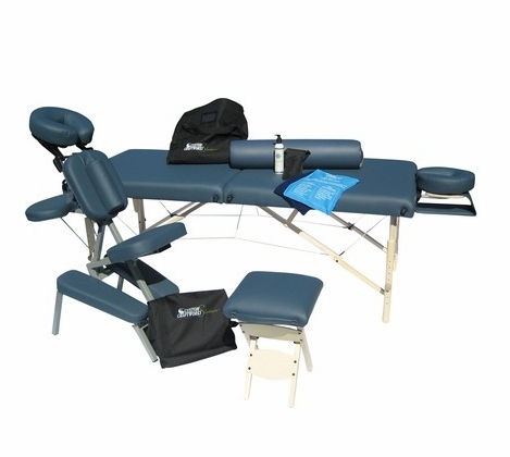 Custom Craftworks Massage Table & Chair Package (Free Shipping)
