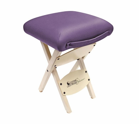 Custom Craftworks - Solutions Wooden Folding Stool