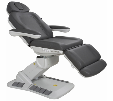 Deluxe Power Medi Spa Chair w Rotation - Silver Fox 2246EB