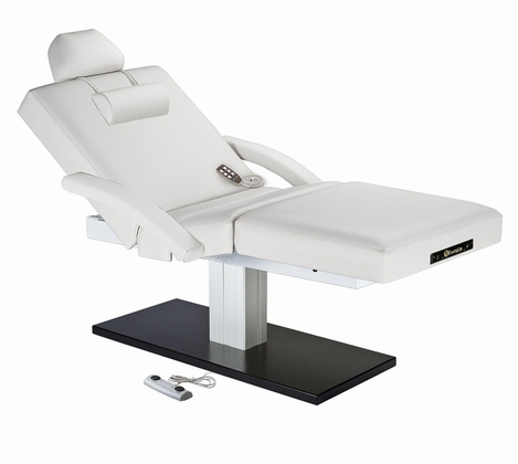 Earthlite Everest Spa Salon Single Pedestal Electric Lift Table
