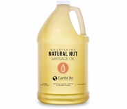 Earthlite Natural Nut Massage Oil - 1 Gallon