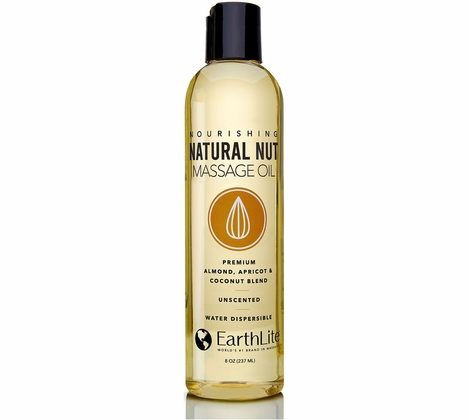 Earthlite Natural Nut Massage Oil - 8oz