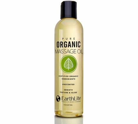 Earthlite Organic Massage Oil - 8oz