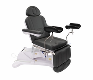 Exam Chair with Stirrups - Spa Luxe Medi Power Procedure 2246B