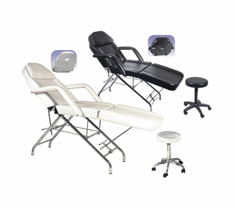Facial Bed with Rolling Stool FBC-A1