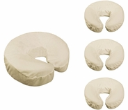 Flannel Face Rest Covers - 4 count