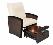Living Earth Crafts - Mystia Pedicure Chair (Free Shipping)