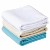 Massage Table Sheet Set - Essential Flannel Sheet & Crescent Cover