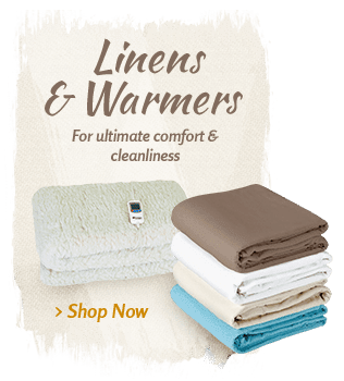 Massage Table - Sheets, Covers and Massage Table Warmers