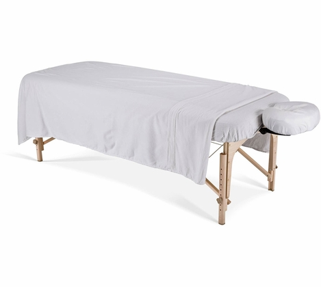 Massage Tables Sheets - Earthlite Dura Luxe Flannel Sheet Sets