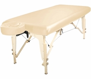 Master Massage PU Protection Vinyl Upholstery Cover in Cream 10161
