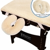 Master Massage - Ultra Fleece Pad with 2 pc Ultra Fleece Pillow Covers