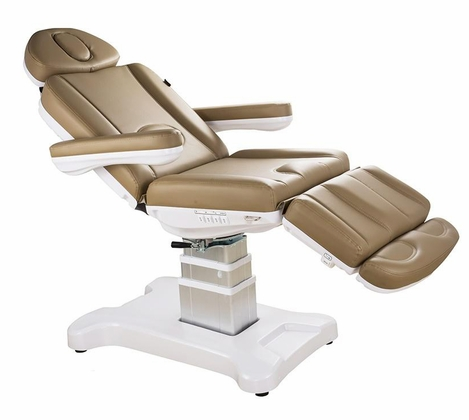 Medi Spa Facial Bed Exam or Treatment Chair w Rotation - All Electric 2246D