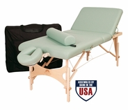 Oakworks - Alliance Wood Massage Table Package (Free Shipping)
