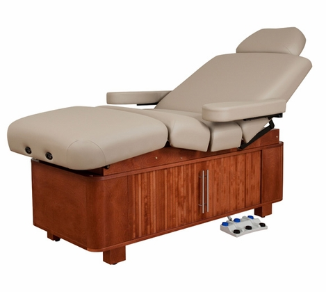 Oakworks - Celesta Electric Lift Salon Top Spa Table (Free Shipping)