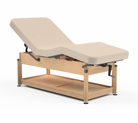 Oakworks - Clinician Hydraulic Lift Spa Table (Free Shipping)