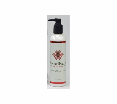 Sacred Earth Botanicals - Massage Warming Lotion - 8 oz.