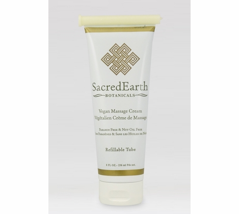 Sacred Earth Botanicals - Organic Massage Cream - 8 oz.