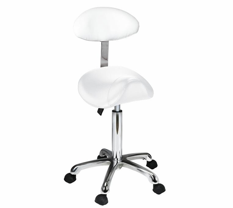 Saddle+ - Rolling Stool with Back Support 1024AB2 - out of stock
