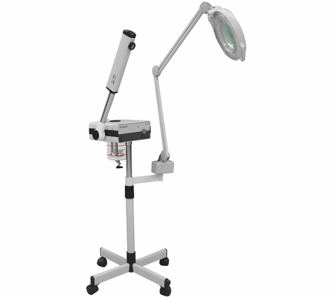Seagoville Facial Steamer with Magnifying Lamp - TD201+TD206