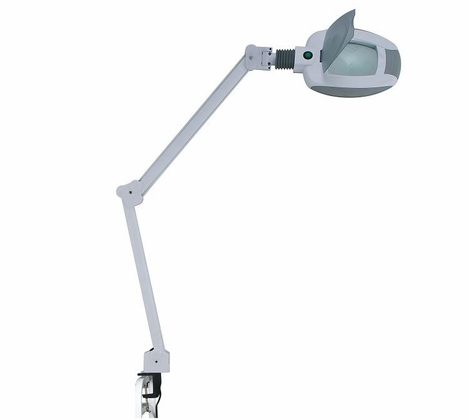 Silver Fox LED Magnifying Lamp - 3 diopter 6 diameter lens (1005)