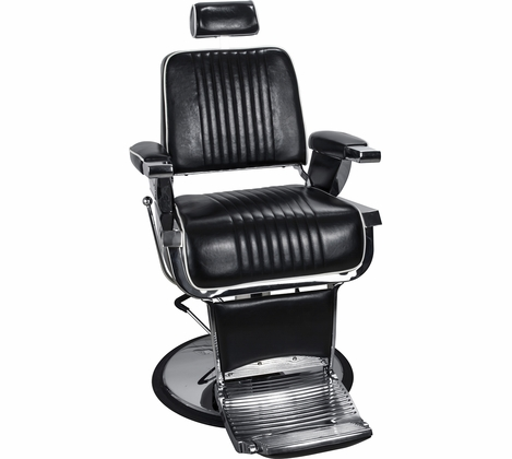 Silver Fox - Retro Barber Chair - 53105