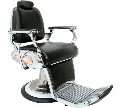 Silver Fox- Retro Vintage Barber Chair - 53107