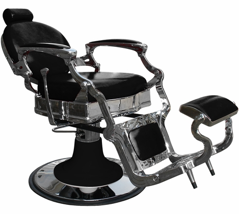 Silver Fox - Vintage Round Barber Chair - 53104