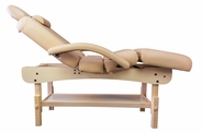 Spa Luxe - Deluxe Stationary Spa Table (Includes Headrest & Arm Rests)