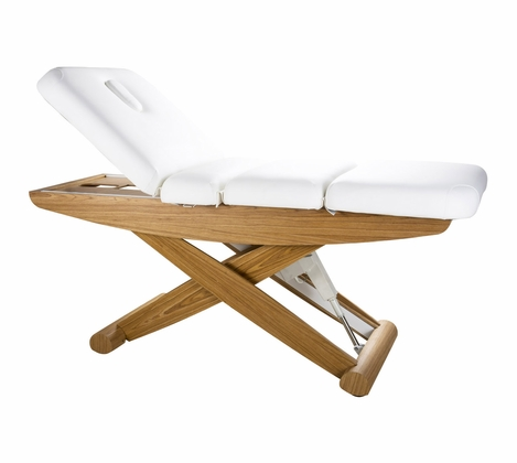 Woody Electric Massage and Spa Table - Silver Fox 2256