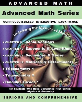 Advanced Math Series - License for up to 10 Computers