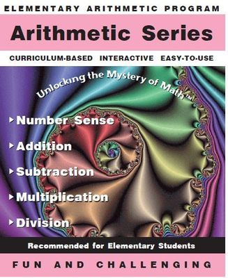 Arithmetic Series + Word Problems<br>(Set of 6 skills programs)<br>License for up to 20 Computers
