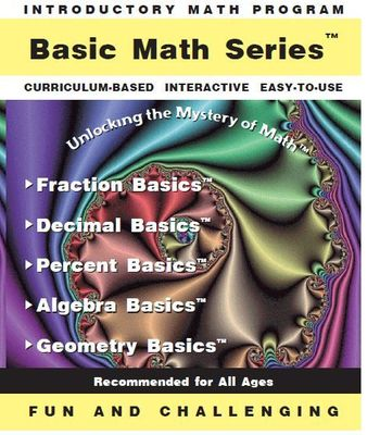 Basic Math Series + Word Problems<br>(Set of 6 skills programs)<br>License for up to 10 Computers