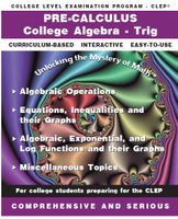 CLEP - Precalculus<br>Includes Trig and College Algebra CLEP Programs