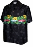 Tropical Classic Cars 1950's Chest Band Shirt
