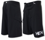 3-Thirty He Greater Than I HIC 8 Way Stretch Boardshorts