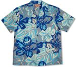 CLOSEOUT Abstract Hibiscus men's shirt